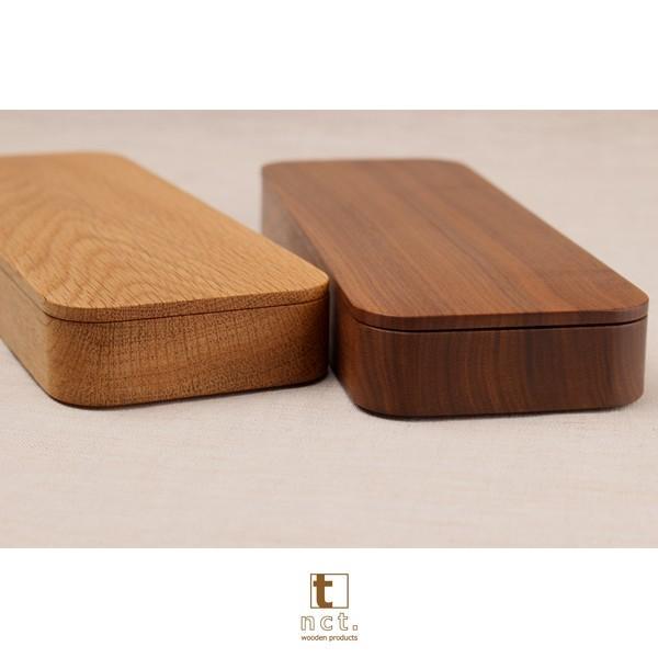 木のカトラリーケース 天然木削り出し|kinokura|05