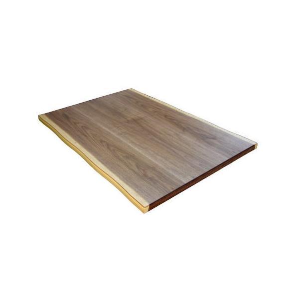 こたつ板 こたつ天板 ウォールナット 皮付き 長方形 150×90 天然木 自然風 シンプル 和 洋 ナチュラル 国産 日本製
