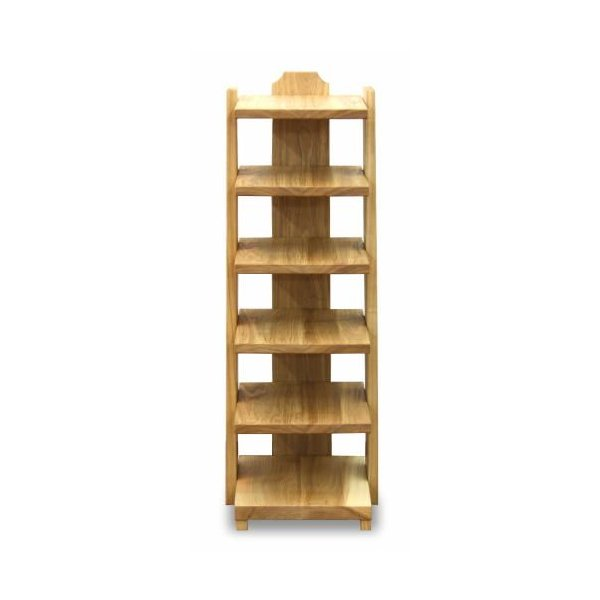 スリッパラック たてしな 手作り 天然木 タモ 無垢 自然塗料 オイル リビング 玄関 マガジンラック 国産 日本製