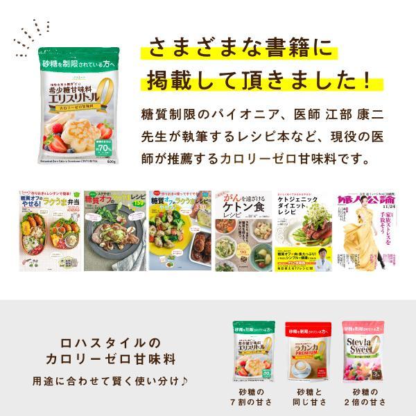 エリスリトール1kg 希少糖 糖質制限 調味料 カロリーゼロ 天然由来甘味料 自然由来 LOHAStyle|kinousei|06