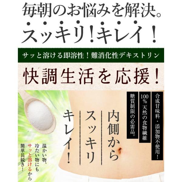 難消化性デキストリン(顆粒タイプ)50g Non-GMO fiber お試しパック|kinousei|02