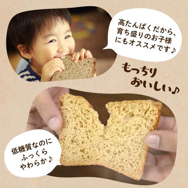 低糖質パンミックス粉 800g ダイエット パン ケーキミックス ホットケーキミックス 低GI 糖質カット|kinousei|07