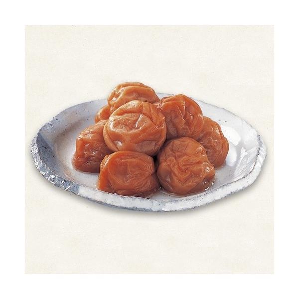 幻の梅 1.1kg詰め(お徳用簡易容器)【塩分】約5%|kinoya-kawabe-foods