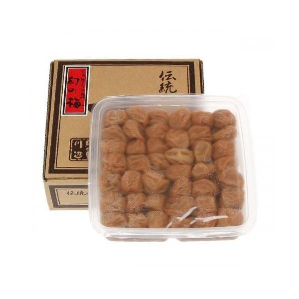 幻の梅 1.1kg詰め(お徳用簡易容器)【塩分】約5%|kinoya-kawabe-foods|03