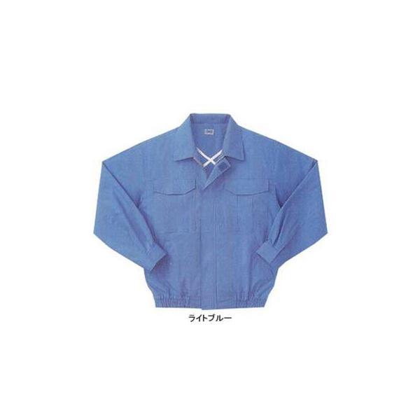 サンエス 空調風神服 KU90550 長袖ワークブルゾン コットンブロード 綿100% ファン無し単品