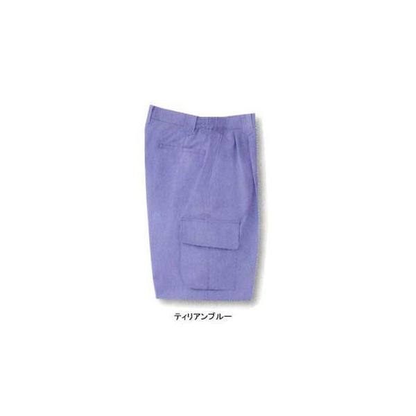 サンエス WA828(BC828) 脇ゴムツータックカーゴパンツ ポプリン(綿60%・ポリエステル40%) ストレッチ 帯電防止素材