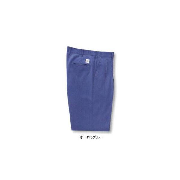 サンエス WA10014(AD10014) ツータックパンツ ポーラ(ポリエステル55%・綿45%) ストレッチ 帯電防止素材