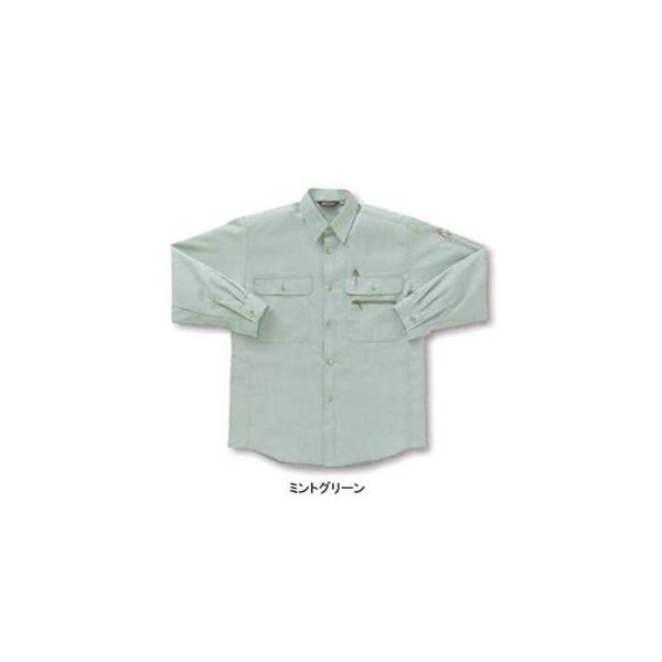 作業服 作業着 サンエス BC329 長袖トリカットシャツ S〜LL|kinsyou-webshop