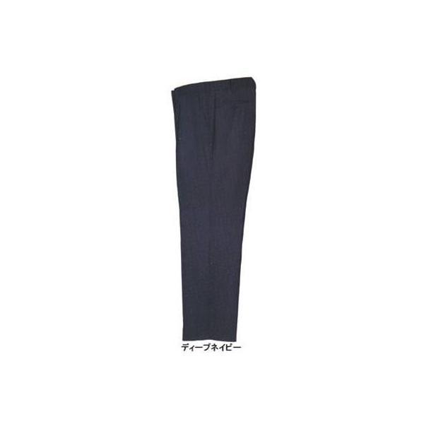 ジーベック 1490 ワンタックスラックス T/Cサマーツイル ポリエステル65%・綿35% 帯電防止素材