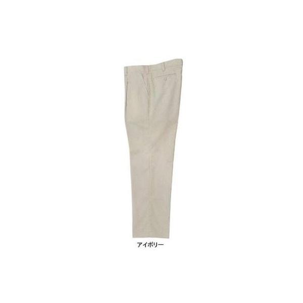 ジーベック 2300 ワンタックスラックス トロピカルストレッチ ポリエステル75%・綿25% 伸縮素材 帯電防止作業服JIS T8118適合商品