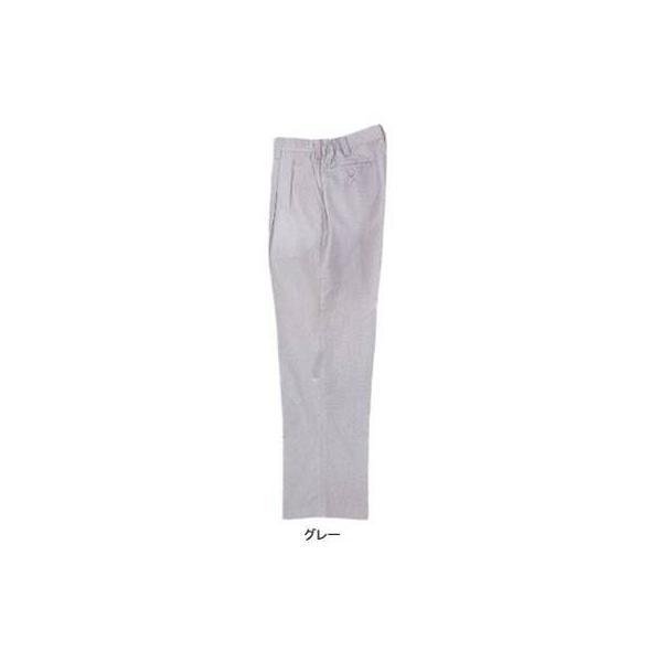 ジーベック 1910 ツータックスラックス 二層糸ストレッチ 綿60%・ポリエステル40% 伸縮素材