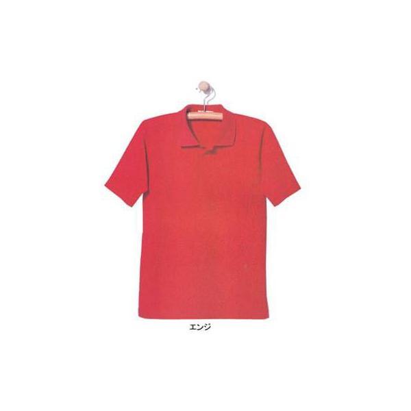 ジーベック 6100 半袖ポロシャツ カノコ 綿55%・ポリエステル45% 伸縮素材 帯電防止素材