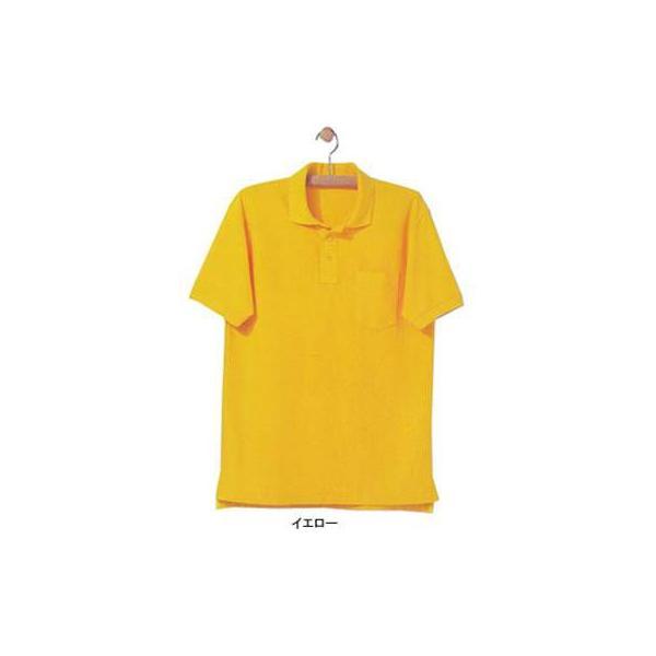 ジーベック 6170 半袖ポロシャツ カノコ ポリエステル65%・綿35% 伸縮素材