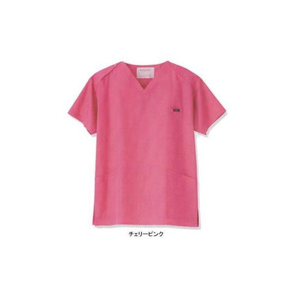 アンジェクラブ 7000SC 男女兼用スクラブ LL・チェリーピンク|kinsyou-webshop