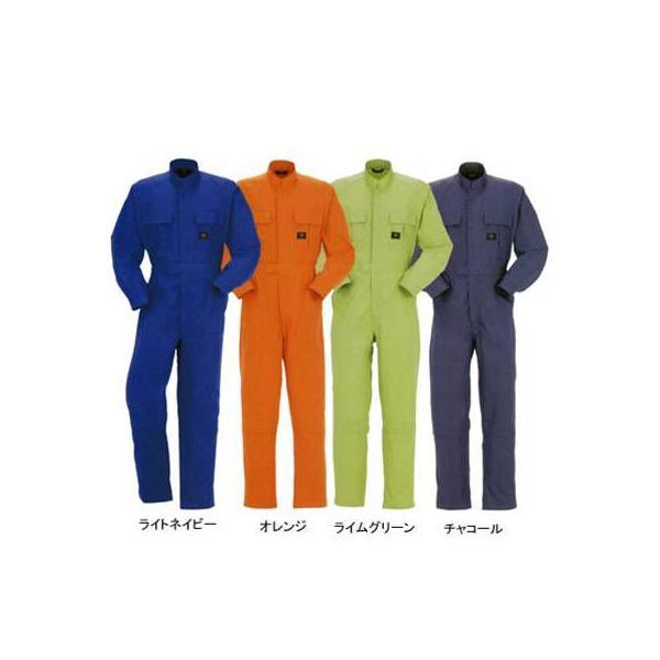DON 4100 ツナギ服 ツイル(中国製) ポリエステル65%・コットン35% 膝ストレッチ(膝のみ内側ストレッチ素材) 規格適合商品JIS T-8118静電気帯電防止作業服