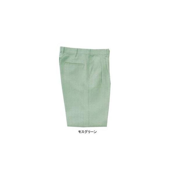 サンエス WA20003(AG20003) ツータックパンツ 二重織り裏綿(ポリエステル90%・綿10%) ストレッチ 帯電防止素材