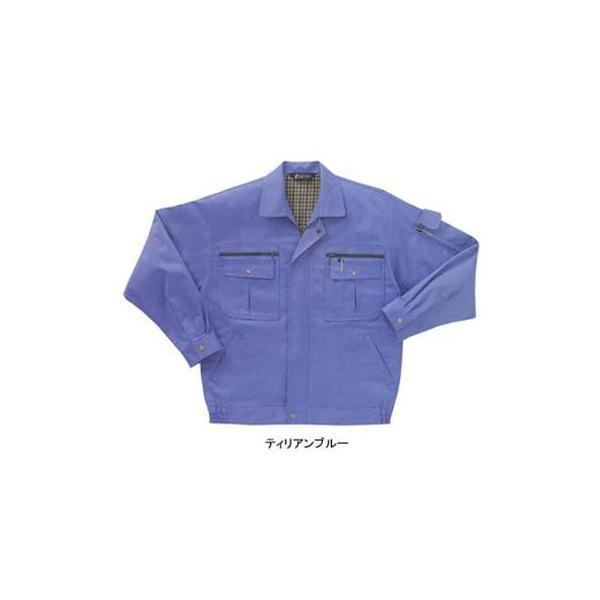 サンエス WA8200(BC8200) 長袖ブルゾン ツイル(ポリエステル55%・綿45%) ストレッチ 帯電防止素材