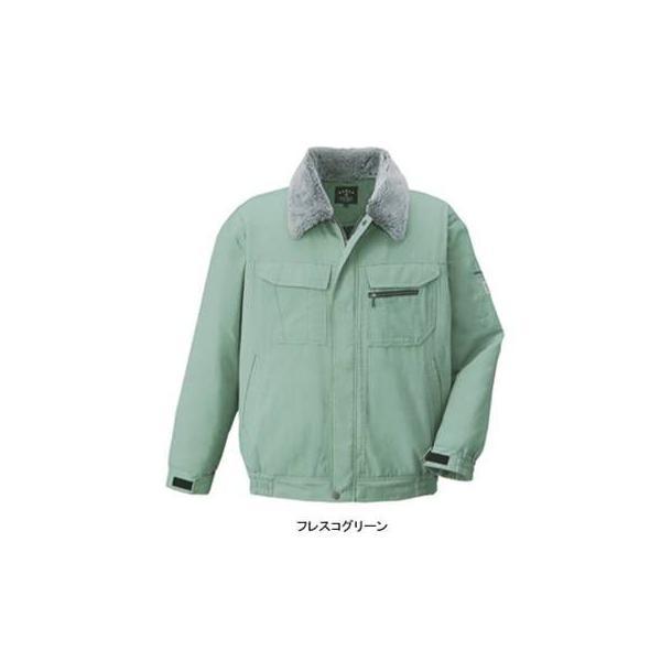 コーコス A-2150 エコ5IVEスターブルゾン (表)ファイブスターエコソフトライトツイル(撥水)、(裏)タフタ、(中綿)キルト (表)ポリエステル65%・綿35%、(裏)ポリエステル100%、(中綿)ポリエステル100% 帯電防止素材使用 撥水加工