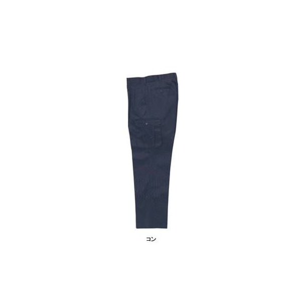 ジーベック 1283 ツータックラットズボン ツイル ポリエステル65%・綿35% 帯電防止素材