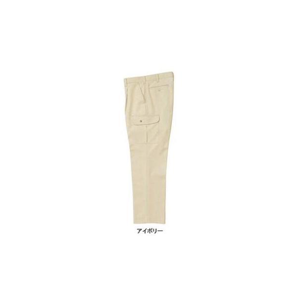 ジーベック 2130 ワンタックラットズボン ストレッチサージ ポリエステル65%・綿35% 伸縮素材 帯電防止素材 超撥水加工 イージーケア