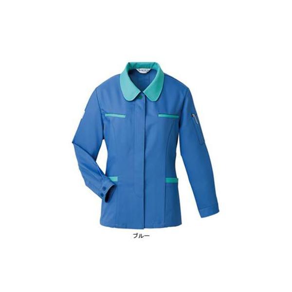 ベスト E2246 スモック M・ブルー 作業服 作業着