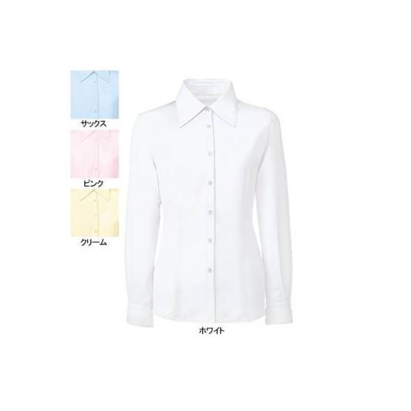 オフィスウェア 事務服 制服 ヌーヴォ FB7548 ブラウス(長袖) 5号〜19号|kinsyou-webshop