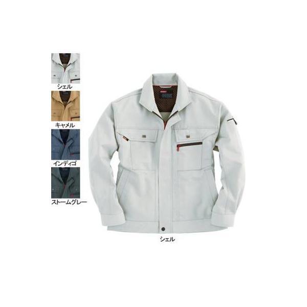 バートル 8051 ジャケット ヴィンテージソフトツイル 制電ケア設計 ポリエステル75%・綿25%