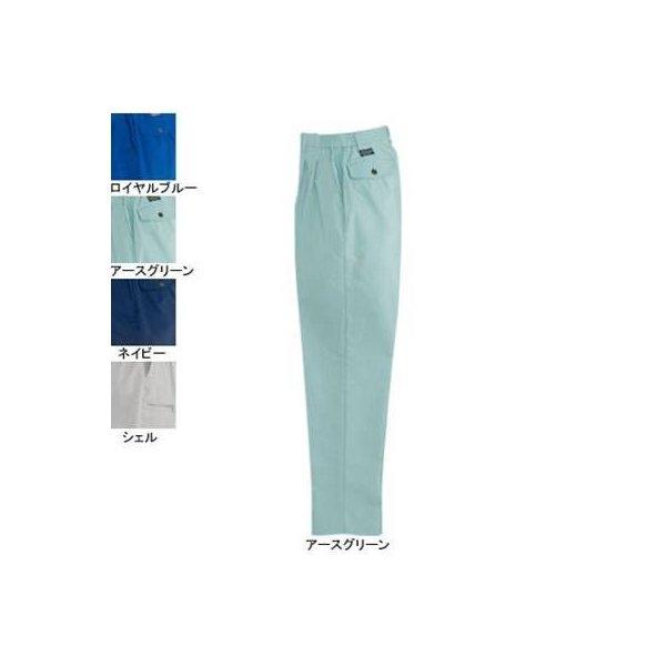バートル 9029 女子ツータックパンツ 中空ストレッチトロ ストレッチ 制電ケア設計 ポリエステル85%・綿15%