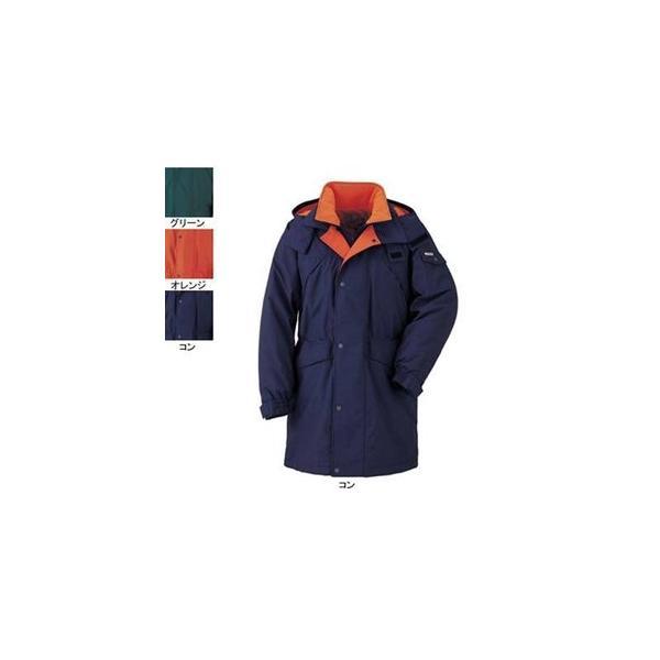 ジーベック 531 防寒コート [表]ナイロン100%(タッサー)、[裏]ポリエステル100%(ワッフルライナー) 耐水圧3000mm 透湿性5000g 防風性