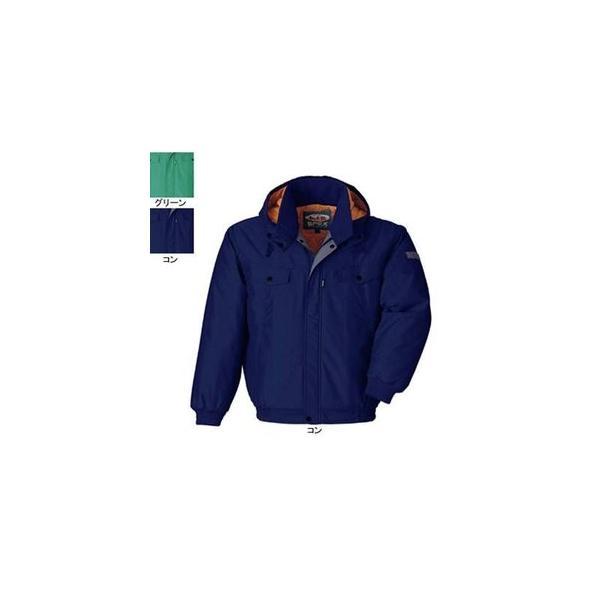 ジーベック 755 防寒ブルゾン [表]ナイロン100%(ナイロンタッサー)、[裏]ナイロン100%、[中綿]ポリエステル100% 帯電防止作業服JIS T8118適合商品 超撥水加工