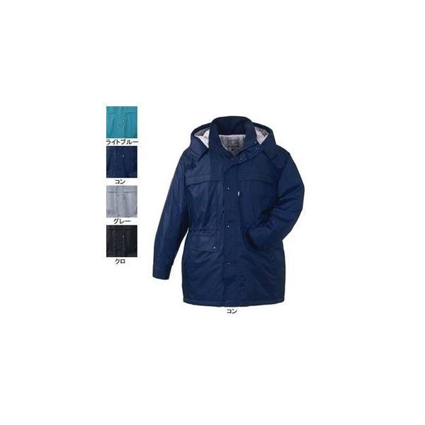 ジーベック 371 防寒コート [表]ナイロン100%(異形糸タフタ)、[裏]蓄熱保温素材・ポリエステル100% 撥水加工