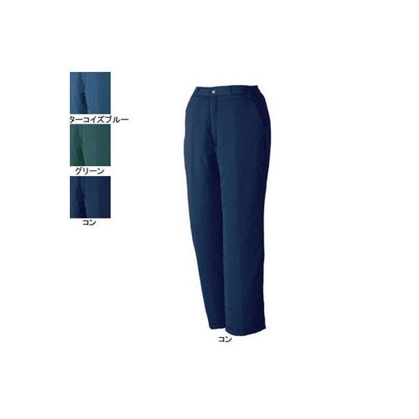 ジーベック 877 防寒パンツ [表]ナイロン100%(ワッシャー加工)、[裏]ポリエステル100%(アルミキルト)、[中綿]ポリエステル100%