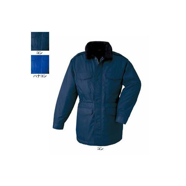 ジーベック 18400 防寒コート [表]ナイロン100%(ナイロンツイル)、[裏]ポリエステル100%、[中綿]ポリエステル100%