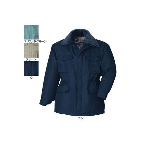 ジーベック 420 防寒コート [表]ポリエステル100%(ポリエステルツイル)、[裏]ポリエステル100%、[中綿]ポリエステル100%
