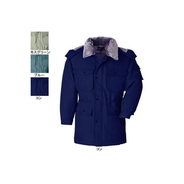 ジーベック 171 防寒コート [表]ポリエステル100%(加工糸ツイル)、[裏]ポリエステル100%(トリコット起毛キルト)、[中綿]ポリエステル100% 撥水加工