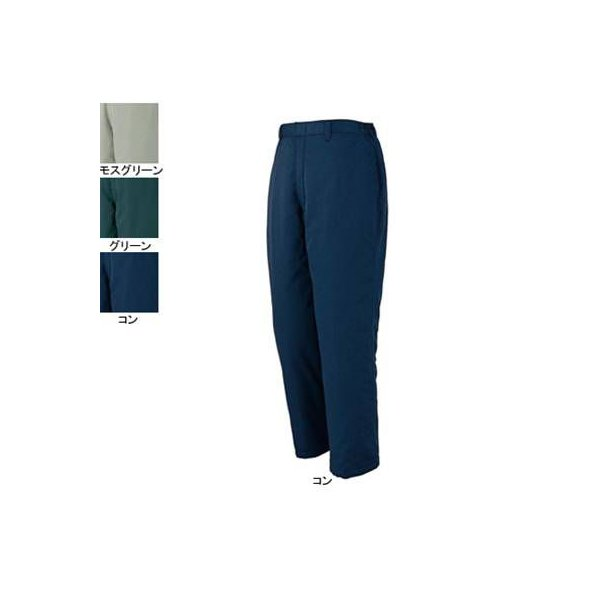 ジーベック 770 防寒パンツ [表]ポリエステル65%・綿35%(T/Cツイル 撥水加工)、[裏]ポリエステル100%(タフタ)、[中綿]ポリエステル100%