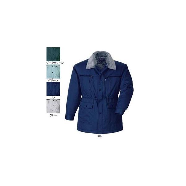 ジーベック 131 防寒コート [表]ポリエステル65%・綿35%(サマーツイル)、[裏]ポリエステル100%(蓄熱保温素材)、[中綿]ポリエステル100% 撥水加工
