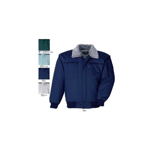 ジーベック 132 防寒ブルゾン [表]ポリエステル65%・綿35%(サマーツイル)、[裏]ポリエステル100%(蓄熱保温素材)、[中綿]ポリエステル100% 撥水加工