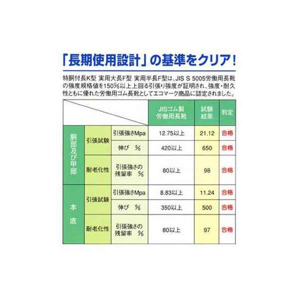 在庫処分セール 作業用品 弘進ゴム A0039AD 実用半長F型 24〜28|kinsyou-webshop|03