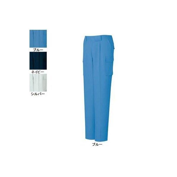 自重堂 81102 エコ製品制電ワンタックカーゴパンツ エコ交織裏綿ツイル(ポリエステル90%・綿10%)(表/ポリエステル100%、裏/ポリエステル65%・綿35%) 帯電防止JIS T8118適合商品