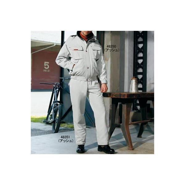 防寒着 防寒服 作業服 作業着 防寒ブルゾン 自重堂 48350 防寒ブルゾン(フード付) M〜LL|kinsyou-webshop|02