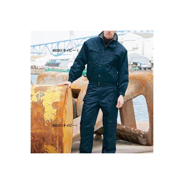 防寒着 防寒服 作業服 作業着 秋冬用 ズボン 防寒ブルゾン 自重堂 48081 防寒パンツ M〜LL|kinsyou-webshop|02