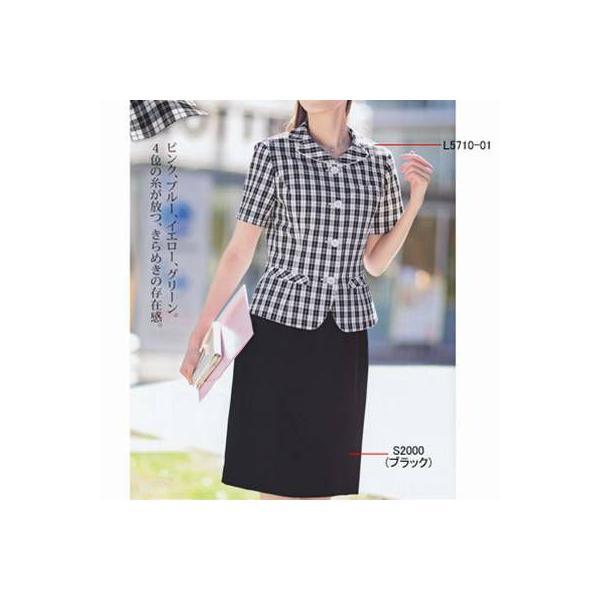 オフィスウェア 事務服 制服 ピエ L5710-01 オーバーブラウス 5号〜15号|kinsyou-webshop|03