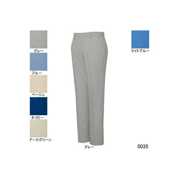 自重堂 5035 エコ製品制電パンツ リサイクルサマーツイル(ポリエステル65%・綿35%) 帯電防止JIS T8118適合商品
