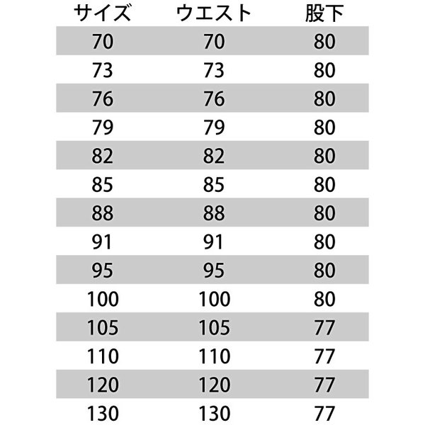 作業着 作業服 バートル 7096 カーゴパンツ 70〜88 かっこいい|kinsyou-webshop|03