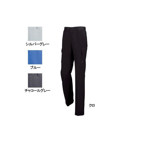 ジーベック 1656 ノータックピタリティラットズボン サワークロス ポリエステル65%・綿35% 帯電防止素材 NEWバンザイカット NEWプリーツロン