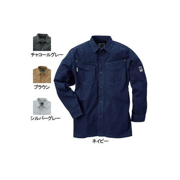 桑和 G.GROUND 575 長袖シャツ 綿100%