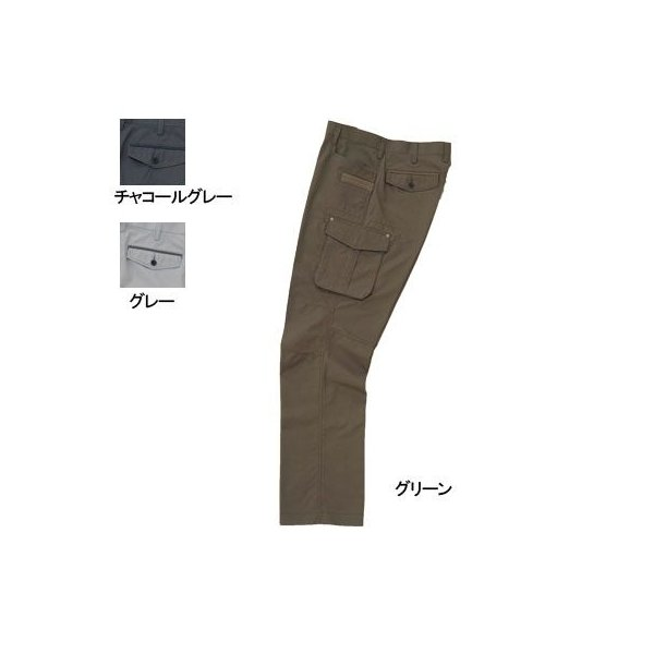 桑和 Absolute GEAR 320 カーゴパンツ[ノータック] 制電性素材 ポリエステル65%・綿35%