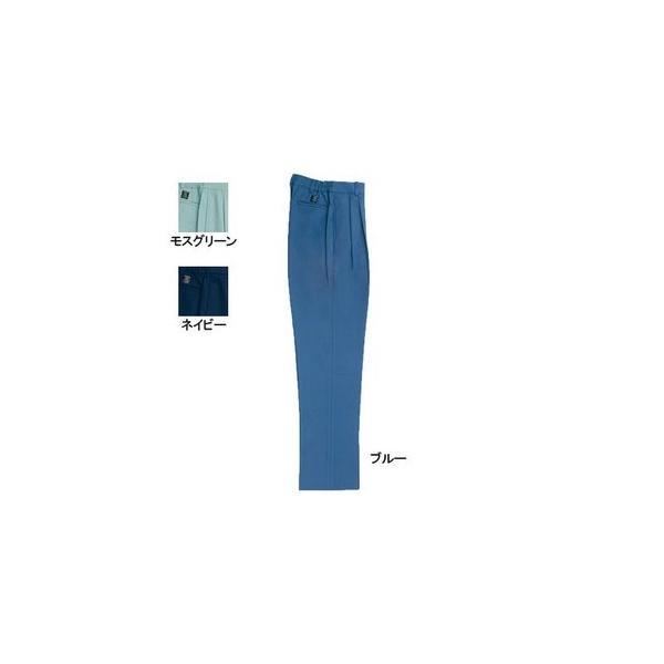桑和 9220 レディースツータックスラックス ポリエステル90%・綿10%(エコ素材 ツイル裏綿) 制電性素材 二重織 ソフト加工 イージーケア