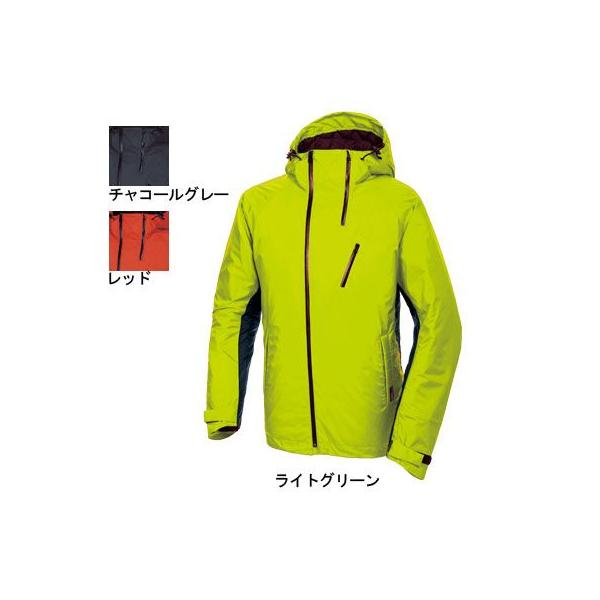 桑和 Absolute GEAR 2204 防水防寒ジャケット 耐水圧10,000mm以上、透湿性22,000g/m2・24h 撥水 防水加工 表:ナイロン100%(コーデュラファブリック) 裏:ポリウレタン100% 中綿:ポリエステル100%(シンサレート)